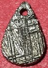 BEAUTIFUL PERFECT 138g ETCHED GIBEON METEORITE TEAR PENDANT SLICE 15x10x2mm NEW