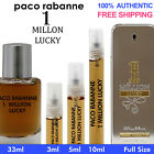 Paco Rabanne 1 Million Lucky EDT Men 3ml 5ml 10ml 33ml Decant Spray Bottle Vial