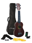 Martin Smith 312 Ukulele Starter Kit  Includes lessons tuner strap spare and