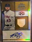 2012 Topps Triple Threads R. A. Dickey Autograph Jersey Relic 25