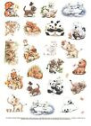1 850 x 11 Sheet of Cute Animal Stickers from Current