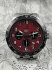 Swiss Army Airboss Mach 6 Automatic Chronograph Steel Mens Watch 24785