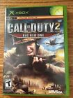 Xbox Call of Duty 2: Big Red One (Microsoft Xbox, 2005) Preowned