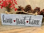 HOME SWEET HOME Handmade Reclaimed Wood Sign Rustic Country Farmhouse Decor