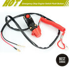 12V ATV Motorcycle Dirt Pit Bike Emergency Stop Engine Switch Push Button