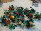 16 Vintage Plastic Holiday Christmas Picks Tie Ons Wreaths Corsage Crafts