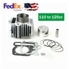 54mm Cylinder Piston Ring Kit Bearing Gaskets Oil Seals 110cc To 125cc Engine