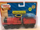 Thomas & Friends Wooden Railway James Lights the Way w/tender LC98097 2011 Rare!