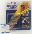 FRANK THOMAS Signed 1991 Starting Lineup FIGURE Chicago WHITE SOX BECKETT COA