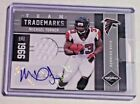 2011 Limited Team Trademarks Jersey Autograph Michael Turner 15 Falcons