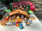 Fisher Price Little People A Christmas Story Nativity Scene Complete Free Ship