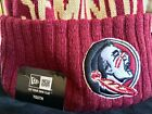 NCAA Florida Seminoles YOUTH- New Era Cap JR 15 - Sport Knit Cap Beanie