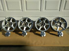 Set of 4 Silver Aluminum Alloy Wheels W Caps 16 5x115 Oldsmobile GM 9592926