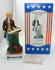 McCormick Porcelain Decanter Thomas Jefferson from Patriot Collection w box