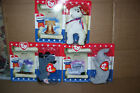 Lot of 3 McDonalds Beanie Babies American Trio Lefty Righty Libearty New 2000