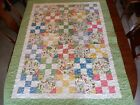 Country Farmhouse Baby Toddler Quilt 39 x 50