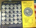 Sunoco DX Antique Car Coin Collection - Series 1 - Partially Filled 10 of 25