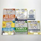 Biggest Loser Book lot 6 books cookbook success secrets calorie counter