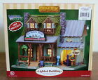 Lemax Fly Fishing Tours Porcelain Lighted Building Vail Village Collection NIB