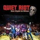 QUIET RIOT-ONE NIGHT IN MILAN CD/DVD BONUS TRACK M13 King Records New Japan F/S