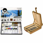 Bob Ross Master Oil Paint Set W Bundle Options For Easel Canvas Or Sketch Box