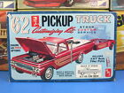 RARE AMT#K-132-200 1962 FORD F-100 PICKUP WITH SINGLE AXLE TRAILER UNBUILT NICE