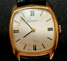 Vintage Zenith Movado men's wriswatch mechanical 70's 17 jewels classic square