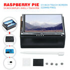 For Raspberry Pi 35 Inch 320x480 TFT Touch Screen LCD Display Monitor + Case