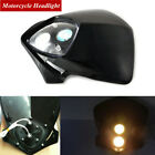 1x 12V Motorcycle Dirt Bike Headlight Fairing Lamp Front Dual Light Driving Lamp