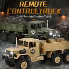 JJRC 1/16 Vintage 6WD Radio Control RC Military Truck Off-Road RTR Car Kids Gift