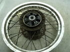 1999 KAWASAKI KLR 650 OEM REAR WHEEL & ROTOR (ITEM# 3862