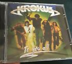 KROKUS To You All CD Reissue 1977 Hard Rock rare AC/DC Paganini Gotthard China