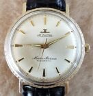 LeCoultre Master Mariner 10K GOLD Filled 6013 Automatic K880 35mm MENS Watch 60s