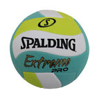Spalding Extreme Pro Wave Outdoor Volleyball Blue Green Official Size Blowout