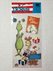 NIP Dr Seuss EK Success Jolees Grinch Stole Christmas Dimensional Stickers