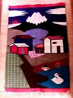 Vintage Native Tapestry Wall Hanging Wool Otavalo Hand Made Ecuador