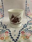 Bosco Bear Skiing Mug Cabin Rare Fire King Milk Glass
