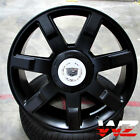 22 CA80 Style Wheels Satin Black Rims Fits Cadillac Escalade ESV EXT Platinum