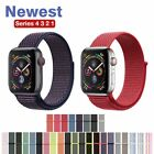 Woven Nylon Band for Apple Watch Sport Loop iWatch Series 54/3/2/1 38/42/40/44mm