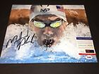 Michael Phelps Signed 11x14 Photo 23 Gold Medals Olympics Rio London PSA DNA