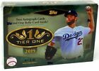 2019 Topps Tier One Baseball Hobby Pack Box (3 Cards)(Factory Sealed)