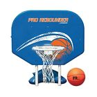 Poolside Basketball Hoop Goal Swimming Pool Water Net Backboard Portable Basket