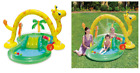 Inflatable Play Center Swimming Pool Jungle Slide Water Play Kids Outdoor Yard