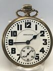 1927 Hamilton 992 21J 16s 10k Gold Filled Double Sunk Dial Pocket Watch