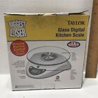 Taylor The Biggest Loser Glass Digital Kitchen Scale Model 3831B