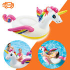 79 Inflatable Unicorn Swimming Pool Float Raft Adult Water Party Fun Raft Toy