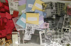 Huge lot scrapbooking  craft stamps Close to My Heart Tim Holtz Clear 9 LBS