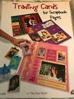 Book Scrapbooking Trading Cards for Scrapbook Pages