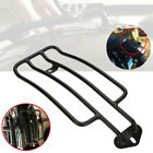 1x Black Solo Seat Rear Fender Luggage Rack Fit for Honda Yamaha Suzuki Kawasaki