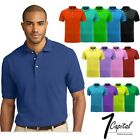 Mens Polo Shirt Dri Fit Golf Sports Cotton T Shirt Jersey Casual Short Sleeve